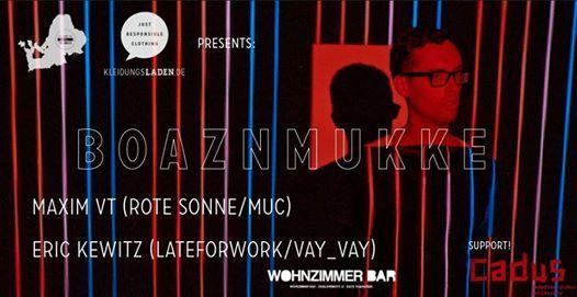 Boaznmukke Mit Maxim Vt Eric Kewitz At Wohnzimmer Bar Traunstein