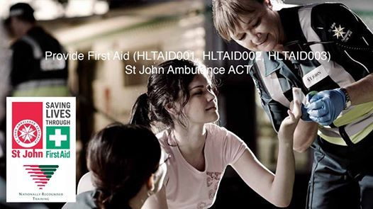 Provide First Aid - St John Ambulance ACT - APRIL 2019