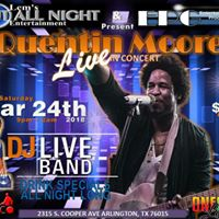 Quentin Moore Live In Concert