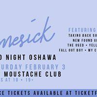 Homesick Emo Night Oshawa - Saturday Feb 3rd