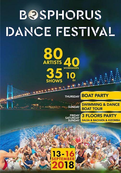 2nd Bosphorus Dance Festival - 13-16 September 2018
