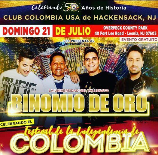 Viaja al Festival Independencia de Colombia at Overpeck