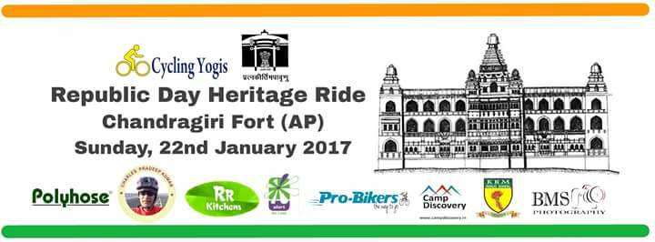 Republic Day Heritage Ride to Chandragiri Fort (AP)