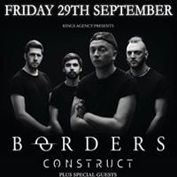 Borders  Construct and special guests at The Underground