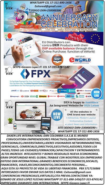 Conferencia Magistral Formacion Empresarios Exitoso Dxn