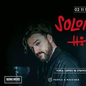 Viernes 02 Noviembre - Solomun &amp Hosh at Forja-Centro de Eventos