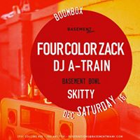 Boombox with Four Color Zack &amp DJ A-Train
