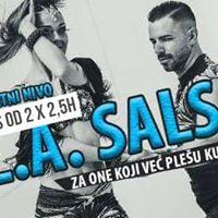L.A. salsa kurs 2x po 25h - Senta