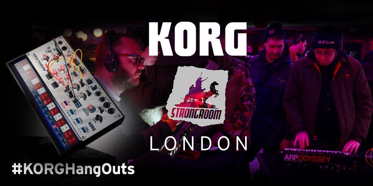KORG HangOuts London Analogue & Synths