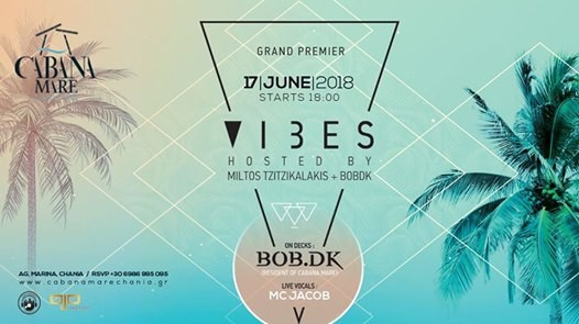V-Vibes Sundays Party at Cabana Mare 17th of June