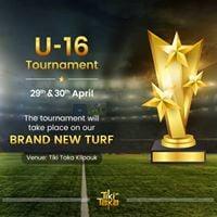 Tiki Taka Kilpauk U-16 Tournament - April 29th &amp 30th 2017