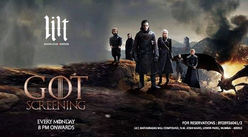 Game of Thrones Screening at Lilt