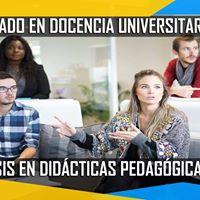 Diplomado Docencia Universitaria nfasis en Didcticas Motivacionales.
