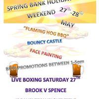 Spring Bank Holiday Weekend