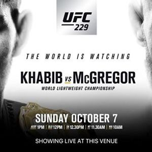 CONOR MCGREGOR UFC events in the City  Top Upcoming Events