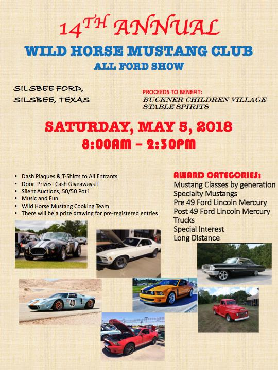 WHMCth Annual Mustang And All Ford Car Show At Highway N - Fun car show award categories