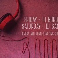 Friday  DJ Boro