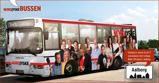 Bussen krer til Tech College Aalborg