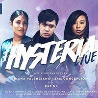 Hysteria Live  Kiana Valenciano and Sam Concepcion with Kat DJ