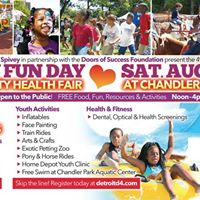 Family Fun Day Community Health Fair &amp Back To School Giveaway