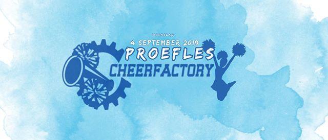 Proeflessen Cheerfactory