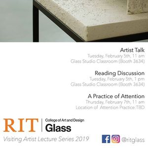 Glass Visiting Artist Lecture: Anna Riley at RIT College of