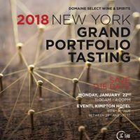 DSWS 2018 NY Grand Portfolio Tasting