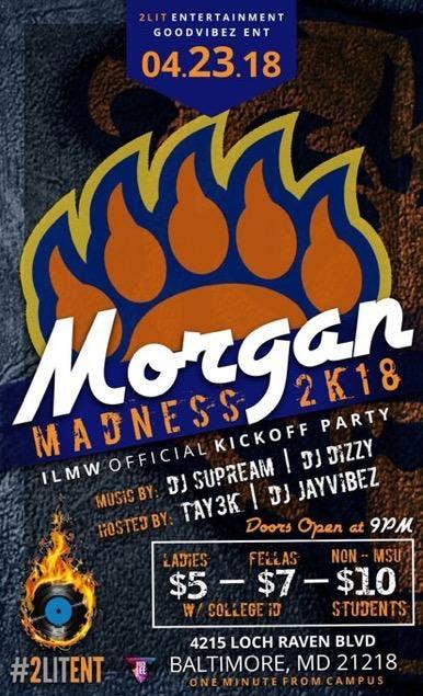 ILMW KICKOFF PARTY  MORGAN MADNESS 2k18