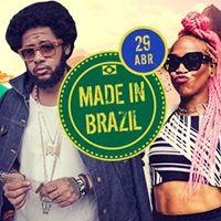 Made In Brazil  Rock Pop MPB e Hip-Hop Nacional