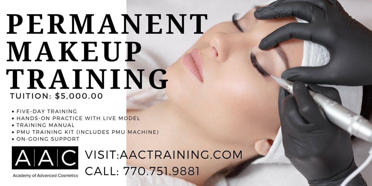 PERMANENT MAKEUP CERTIFICATION TRAINING