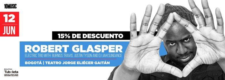 Robert Glasper y su Electric Trio en Bogot