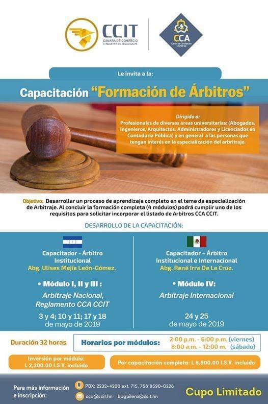 Formación De árbitros At Centro De Conciliación Y Arbitraje