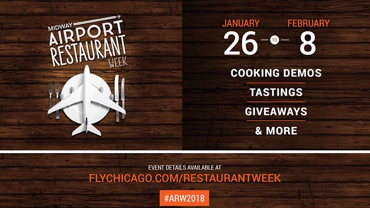 Midway Airport Restaurant Week 2018 At Chicago Midway International