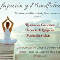 Clase Gratuita de Relajacin y Mindfulness