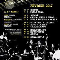 Jam in Brussels open by club de Choro