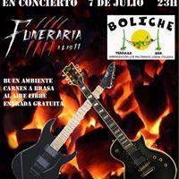 Concierto Funeraria a las 11 en el Boliche