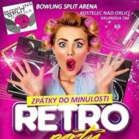 Retro Party So 23.9. Bowling Split Arna Kostelec nad Orlic