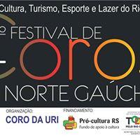 1 FESTIVAL DE COROS DO NORTE GACHO