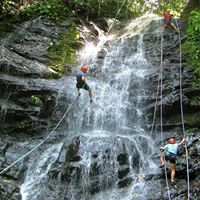 Waterfall Rappelling at Bhilar