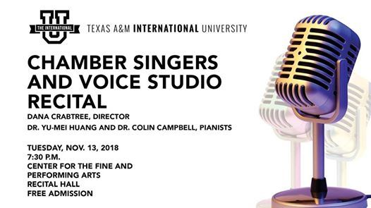 TAMIU Chamber Singers and Voice Studio Recital
