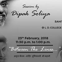 Between The Lines -Dipak Soliya