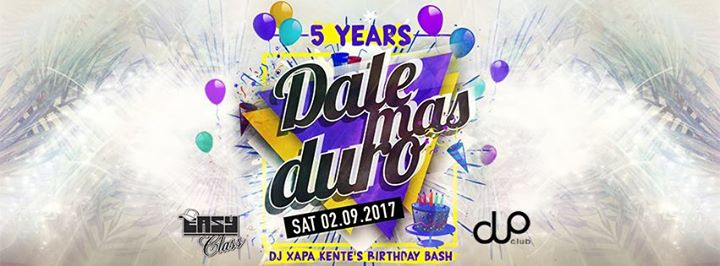 5 years celebration - Dale Mas Duro since 2012
