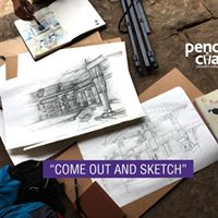 Pencil &amp Chai 203 - Sketching Session