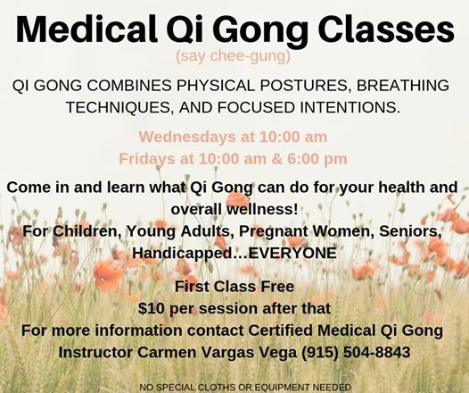 Medical Qi Gong Class at The Retreat, El Paso