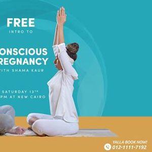 New Cairo Free Intro to conscious pregnancy with Shama Kaur