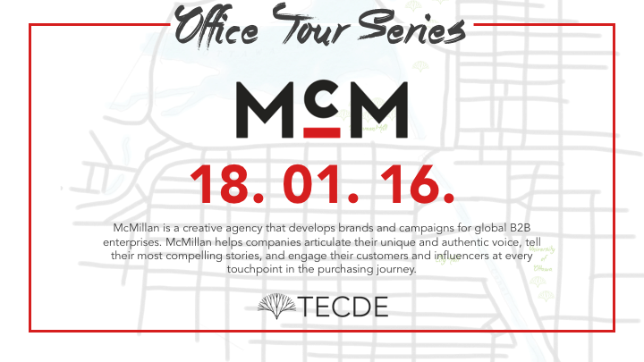 TECDE x TMA Presents The Office Tour Series - McMillan