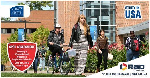 University of Wisconsin-Stout - Spot Assessment