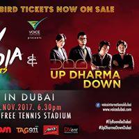 Ely Buendia &amp Up Dharma Down Live in Dubai 2017