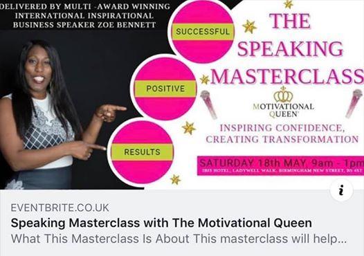 Speaking Masterclass
