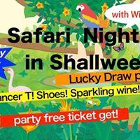 Safari Night in Shallweenlucky draw party